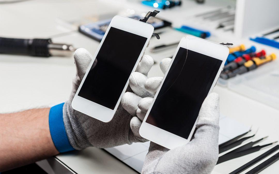 Zamena i popravka polomljenog stakla na iPhone telefonima