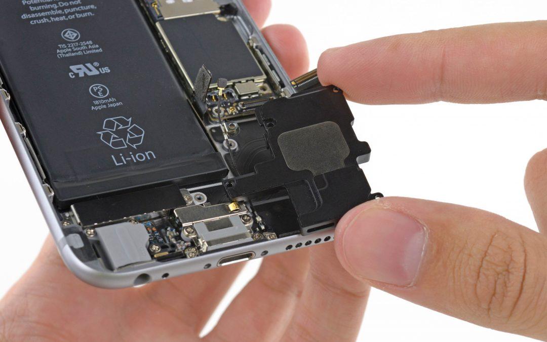 Zamena i popravka zvučnika na iPhone mobilnim telefonima
